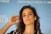 Foto/IPP/Gioia Botteghi 10/09/2015 Roma presentazione della fiction IL GIOVANE MONTALBANO, nella foto:  Serena Insiti