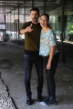 Foto/IPP/Gioia Botteghi 10/09/2015 Roma presentazione della fiction IL GIOVANE MONTALBANO, nella foto: Michele Riondino e Sarah Felberbaun