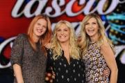 Foto/IPP/Gioia Botteghi 10/09/2015 Roma presentazione della trasmissione TI LAscio una canzone, nella foto: Antonella Clerici, Chiara e Cuccarini