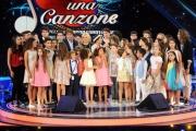 Foto/IPP/Gioia Botteghi 12/09/2015 Roma prima puntata della trasmissione di rai uno TI LASCIO UNA CANZONE, nella foto Antonella Clerici e Antonio Conte e Martina Stoessel