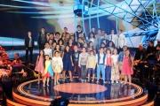 Foto/IPP/Gioia Botteghi 12/09/2015 Roma prima puntata della trasmissione di rai uno TI LASCIO UNA CANZONE, nella foto tutti i ragazzi partecipanti