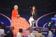 Foto/IPP/Gioia Botteghi 12/09/2015 Roma prima puntata della trasmissione di rai uno TI LASCIO UNA CANZONE, nella foto Antonella Clerici e Martina Stoessel