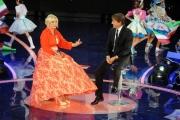 Foto/IPP/Gioia Botteghi 12/09/2015 Roma prima puntata della trasmissione di rai uno TI LASCIO UNA CANZONE, nella foto Antonella Clerici e Antonio Conte
