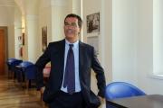Foto/IPP/Gioia Botteghi 14/09/2015 Roma presentata oggi a Roma la nuova edizione del programma de La7, DI MARTEDI', nella foto Giovanni Floris