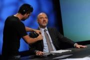 Foto/IPP/Gioia Botteghi 20/09/2015 Roma  in mezz'ora ospite di Lucia Annunziata  Commissario Europeo Affari Economici e Monetari Pierre Moscovici.