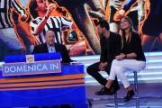Foto/IPP/Gioia Botteghi 27/09/2015 Roma prima puntata di Domenica in nella foto Paola Perego e Salvo Sottile, con Gimpiero Galeazzi