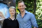 Foto/IPP/Gioia Botteghi 28/09/2015 Roma Mia Wasikowska e Tom Hiddleston per il film Crimson Peak