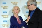 Foto/IPP/Gioia Botteghi 02/10/2015 Roma presentazione del film WOMEN IN GOLD, nella foto Hellen Mirrer ed il regista Simon Curtis