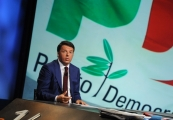 Foto/IPP/Gioia Botteghi 04/10/2015 Roma Renzi ospite di Lucia Annunziata ad in mezz'ora