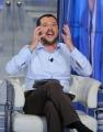 Foto/IPP/Gioia Botteghi 05/10/2015 Roma puntata di porta a porta con Matteo Salvini