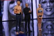 Foto/IPP/Gioia Botteghi 13/04/2015 Roma  prima puntata di SI PUO FARE, nella foro: Amaurys Perez e Matilde Brandi