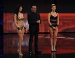 Foto/IPP/Gioia Botteghi 13/04/2015 Roma  prima puntata di SI PUO FARE, nella foro: Pamela Prati, Costanza Caracciolo