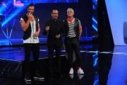 Foto/IPP/Gioia Botteghi 13/04/2015 Roma  prima puntata di SI PUO FARE, nella foro: Mario Cipollini, Biagio Izzo