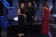 Foto/IPP/Gioia Botteghi 13/04/2015 Roma  prima puntata di SI PUO FARE, nella foro:  Roberto Ciufoli, Fiona May