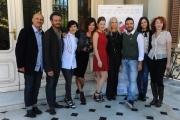Foto/IPP/Gioia Botteghi 12/10/2015 Roma presentazione del film La bugia bianca , nella fotoL il cast