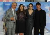 Foto/IPP/Gioia Botteghi 13/10/2015 Roma presentazione del film io che amo solo te, nella foto: Michele Placido, Chiatti, Scamarcio, Calzone