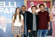 Foto/IPP/Gioia Botteghi 14/10/2015 Roma presentazione del filmBelli di papà, nella foto:  MATILDE GIOLI, DIEGO ABATANTUONO, ANDREA PISANI,  FRANCESCO DI RAIMONDO