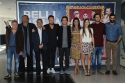 Foto/IPP/Gioia Botteghi 14/10/2015 Roma presentazione del filmBelli di papà, nella foto: il cast