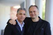 Foto/IPP/Gioia Botteghi 15/10/2015 Roma presentazione del film era d'estate, nella foto:  Beppe Fiorello con Massimo Popolizio