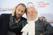 Foto/IPP/Gioia Botteghi 23/10/2015 Roma festa del cinema di roma,omaggio a Fantozzi, nella foto:  Paolo Villaggio con il figlio Piero