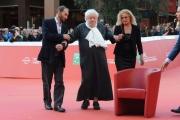 Foto/IPP/Gioia Botteghi 23/10/2015 Roma festa del cinema di roma,omaggio a Fantozzi, nella foto:  Paolo Villaggio , Anna Mazzamauro e Plinio Fernando