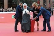 Foto/IPP/Gioia Botteghi 23/10/2015 Roma festa del cinema di roma,omaggio a Fantozzi red carpet, nella foto:  Paolo Villaggio