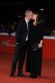 Foto/IPP/Gioia Botteghi 23/10/2015 Roma festa del cinema di roma, red carpet del film Alaska, nella foto:  il regista Claudio Cupellini con la moglie