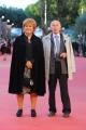 Foto/IPP/Gioia Botteghi 24/10/2015 Roma festa del cinema di roma, red carpet,  nella foto: Bertinotti e signora