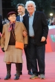 Foto/IPP/Gioia Botteghi 24/10/2015 Roma festa del cinema di roma, red carpet,  nella foto:  Franca Valeri con Ninetto Davoli