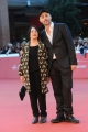Foto/IPP/Gioia Botteghi 24/10/2015 Roma festa del cinema di roma, red carpet,  nella foto: Adriana Asti ed il regista Rocco Talucci