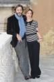 Foto/IPP/Gioia Botteghi 26/10/2015 Roma presentazione della fiction di canale 5 I MISTERI DI LAURA, nella foto: Carlotta Natoli, Daniele Pecci