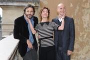 Foto/IPP/Gioia Botteghi 26/10/2015 Roma presentazione della fiction di canale 5 I MISTERI DI LAURA, nella foto: Carlotta Natoli, Daniele Pecci, Gian Marco Tognazzi