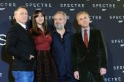 Foto/IPP/Gioia Botteghi 27/10/2015 Roma Presentazione del film Spectre 007, nella foto il regista Sam Mendes, Monica Bellucci, Christoph Waltz, Daniel Craig