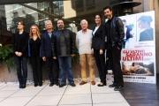 Foto/IPP/Gioia Botteghi 09/11/2015 Roma presentazione del film Gli ultimi saranno gli ultimi, nella foto:  il cast con i Lucisano