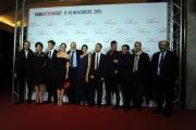 Foto/IPP/Gioia Botteghi 11/11/2015 Roma primo giorno del fictionfest, nella foto i protagonisti della fiction Lea con il regista Marco Tullio Giordana