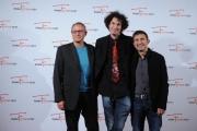 Foto/IPP/Gioia Botteghi 13/11/2015 Roma terzo giorno del fictionfest, nella foto  il regista Francesco Chiatante,  Giorgio Daviddi, Luca Raffaelli