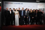 Foto/IPP/Gioia Botteghi 14/11/2015 Roma terzo giorno del fictionfest, fiction Limbo, nella foto  il cast con il regista Lucio Pellegri e il produttore Domenico Procacci