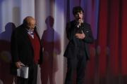 Foto/IPP/Gioia Botteghi 20/11/2015 Roma seconda puntata del Maurizio Costanzo Show, nella foto  Maurizio Costanzo e Ludovico Mazzon
