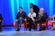 Foto/IPP/Gioia Botteghi 20/11/2015 Roma seconda puntata del Maurizio Costanzo Show, nella foto Pippo Baudo, Maurizio Costanzo, Spaak, Paolo Calissano