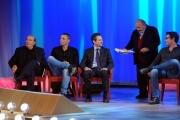 Foto/IPP/Gioia Botteghi 20/11/2015 Roma seconda puntata del Maurizio Costanzo Show, nella foto  Maurizio Costanzo, Stefano Zecchi, Alex Britti, Sebastiano Ardita