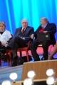 Foto/IPP/Gioia Botteghi 20/11/2015 Roma seconda puntata del Maurizio Costanzo Show, nella foto Pippo Baudo, Maurizio Costanzo