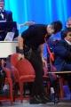 Foto/IPP/Gioia Botteghi 20/11/2015 Roma seconda puntata del Maurizio Costanzo Show, nella foto fachiro e vampiri mangia il vetro in diretta una lampadina