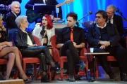 Foto/IPP/Gioia Botteghi 20/11/2015 Roma seconda puntata del Maurizio Costanzo Show, nella foto  la coppia di fachiri vampiri