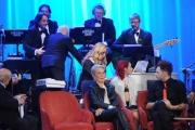 Foto/IPP/Gioia Botteghi 20/11/2015 Roma seconda puntata del Maurizio Costanzo Show, nella foto Valeria Marini al pianoforte