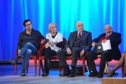 Foto/IPP/Gioia Botteghi 20/11/2015 Roma seconda puntata del Maurizio Costanzo Show, nella foto Catherine Spaak Pippo Baudo, Maurizio Costanzo Paolo Calissano