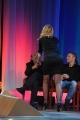 Foto/IPP/Gioia Botteghi 20/11/2015 Roma seconda puntata del Maurizio Costanzo Show, nella foto Valeria Marini   con Stefano Zecchi