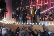 Foto/IPP/Gioia Botteghi 20/11/2015 Roma seconda puntata del Maurizio Costanzo Show, nella foto Umberto Smaila canta