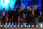 Foto/IPP/Gioia Botteghi 20/11/2015 Roma seconda puntata del Maurizio Costanzo Show, nella foto Valeria Marini  canta