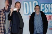 Foto/IPP/Gioia Botteghi 23/11/2015 Roma presentazione del film DIO ESISTE E VIVE A BRUXELLES, nella foto: il regista Jaco Van Dormae e Benoit Poelvoorde