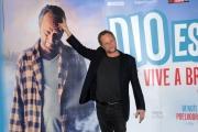 Foto/IPP/Gioia Botteghi 23/11/2015 Roma presentazione del film DIO ESISTE E VIVE A BRUXELLES, nella foto:  Benoit Poelvoorde